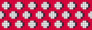 Alpha Friendship Bracelet Pattern #17794