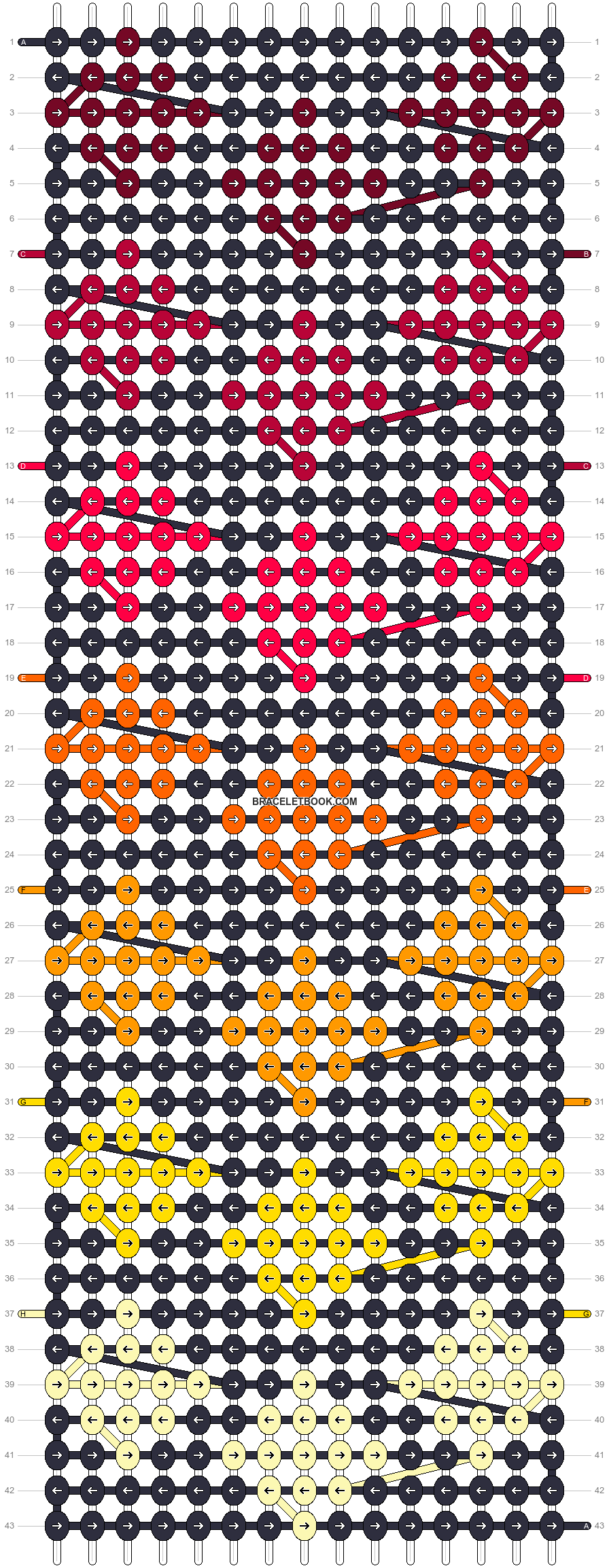 Alpha pattern #17796 pattern