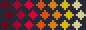 Alpha Friendship Bracelet Pattern #17796