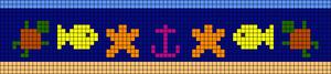 Alpha Friendship Bracelet Pattern #17806