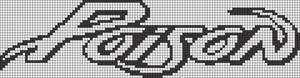 Alpha pattern #17838