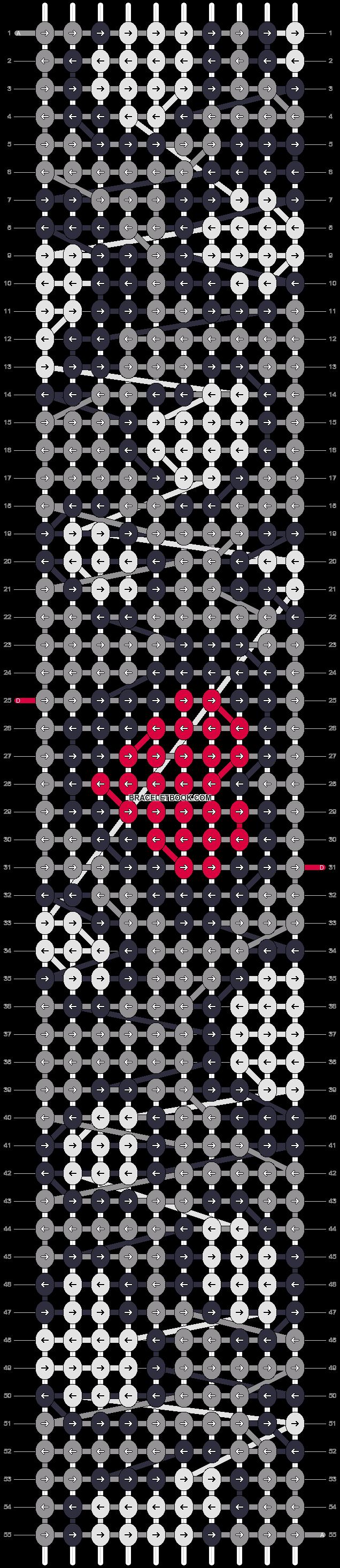 Alpha pattern #17852 pattern