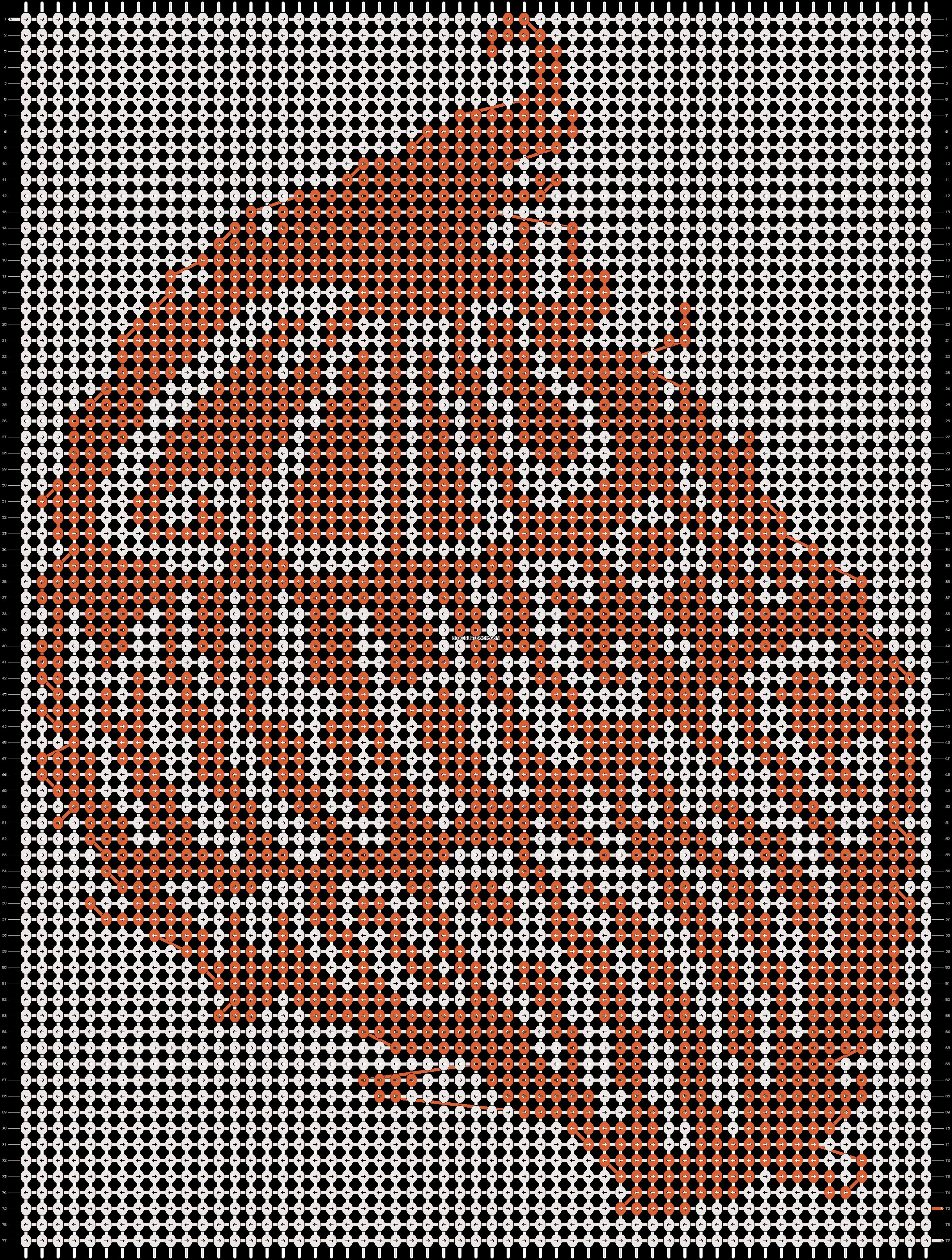 Alpha pattern #17853 pattern
