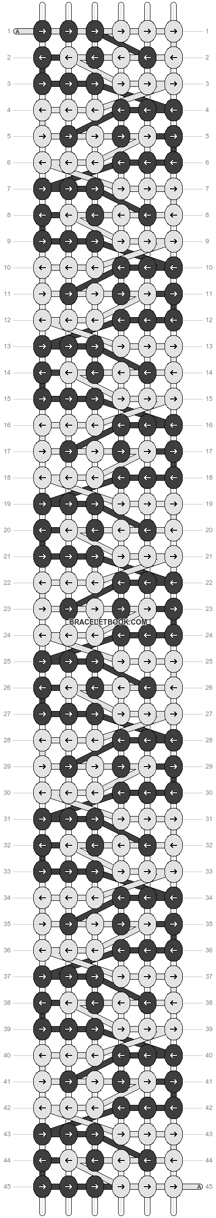 Alpha pattern #17860 pattern