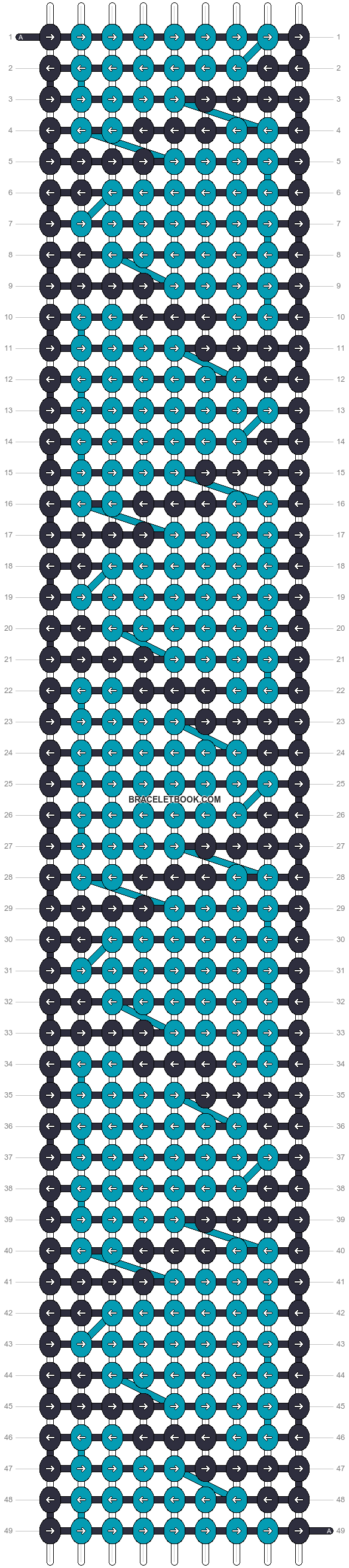 Alpha pattern #17862 pattern