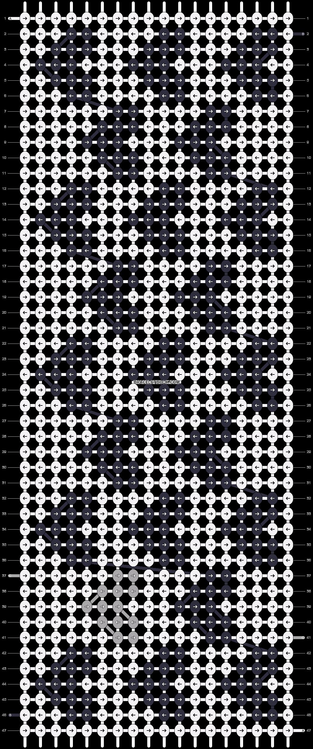 Alpha pattern #17880 pattern