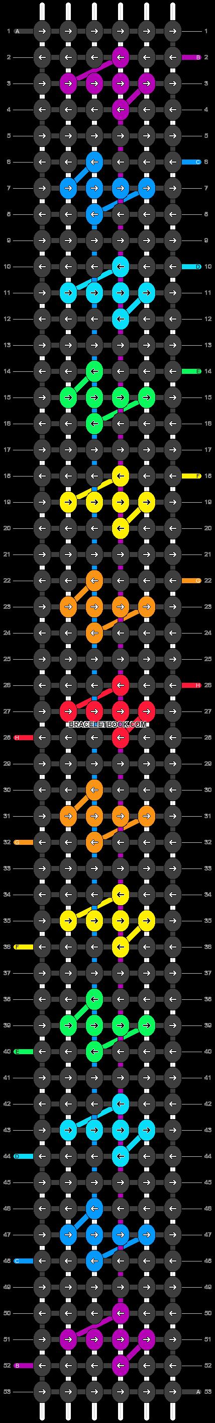 Alpha pattern #17884 pattern