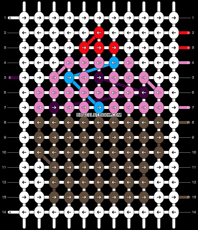 Alpha pattern #17894 pattern