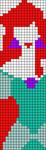 Alpha pattern #17895