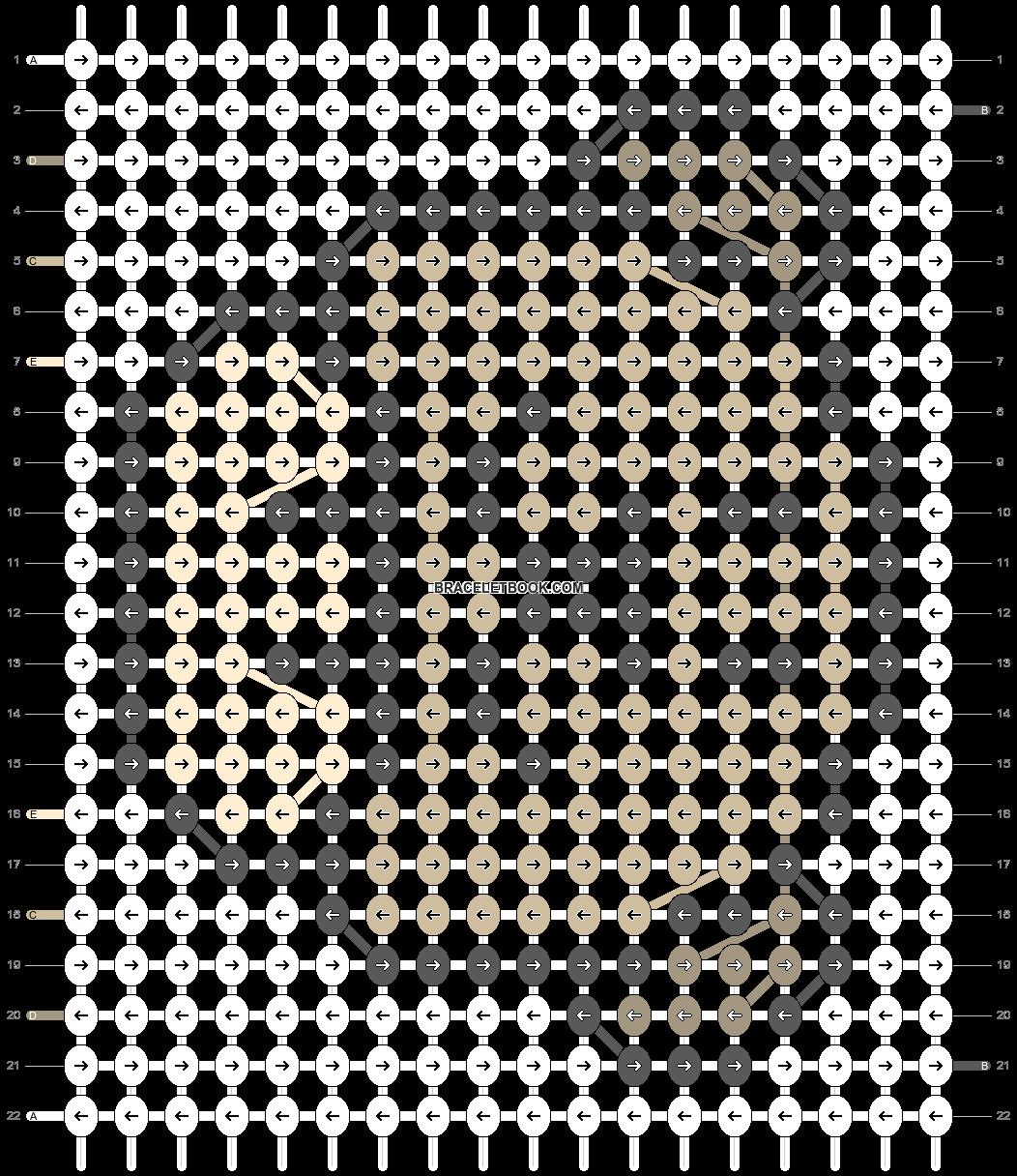 Alpha pattern #17896 pattern
