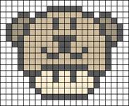 Alpha Friendship Bracelet Pattern #17896