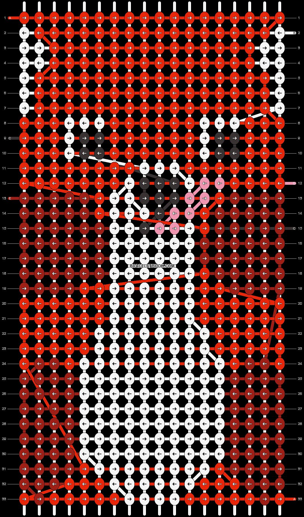 Alpha pattern #17898 pattern