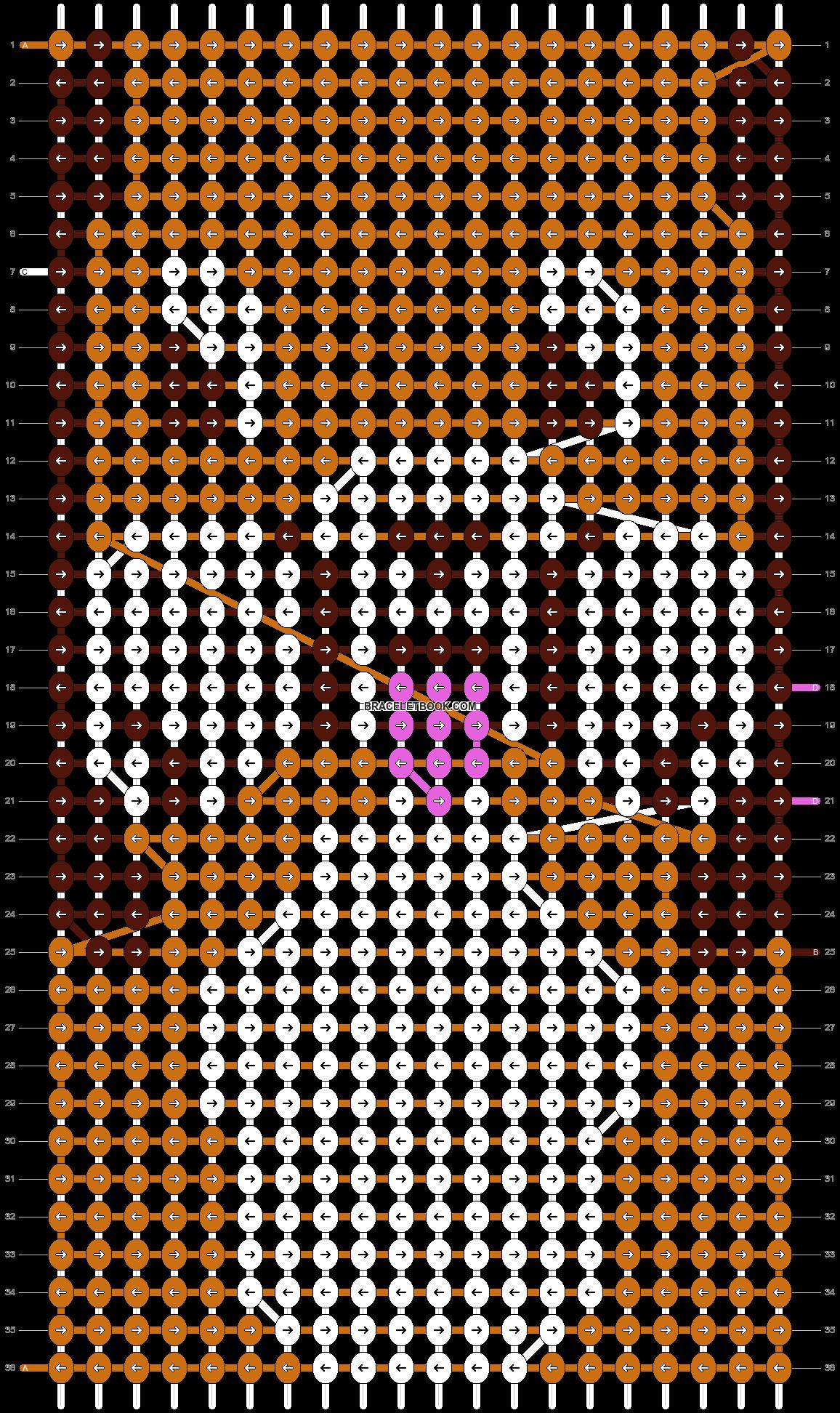 Alpha pattern #17899 pattern
