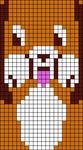 Alpha Friendship Bracelet Pattern #17899