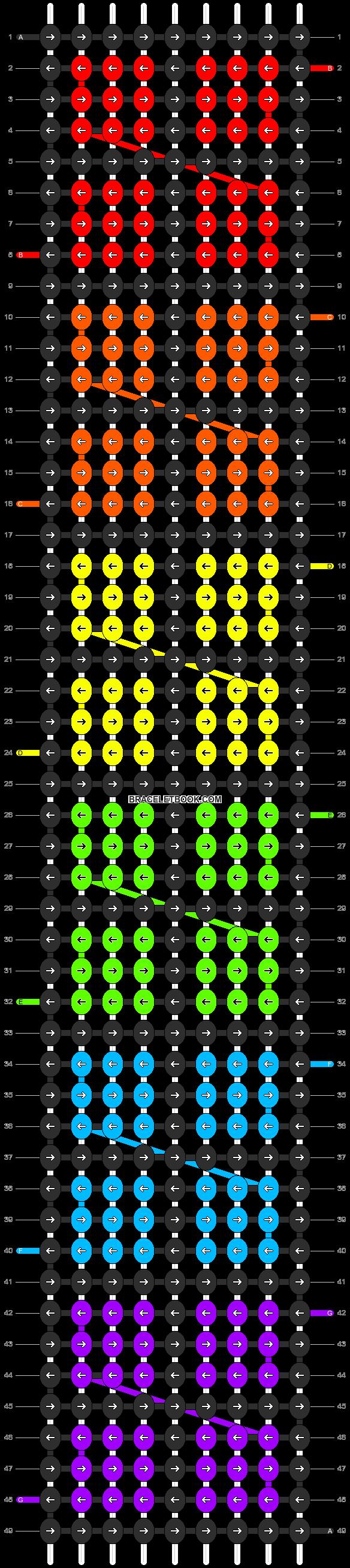 Alpha pattern #17916 pattern