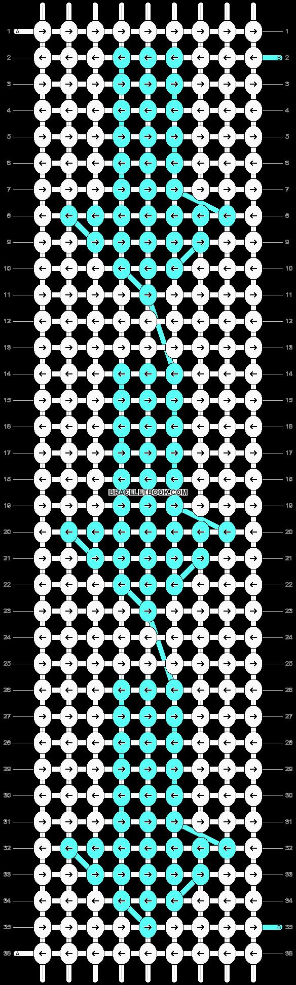 Alpha pattern #17924 pattern