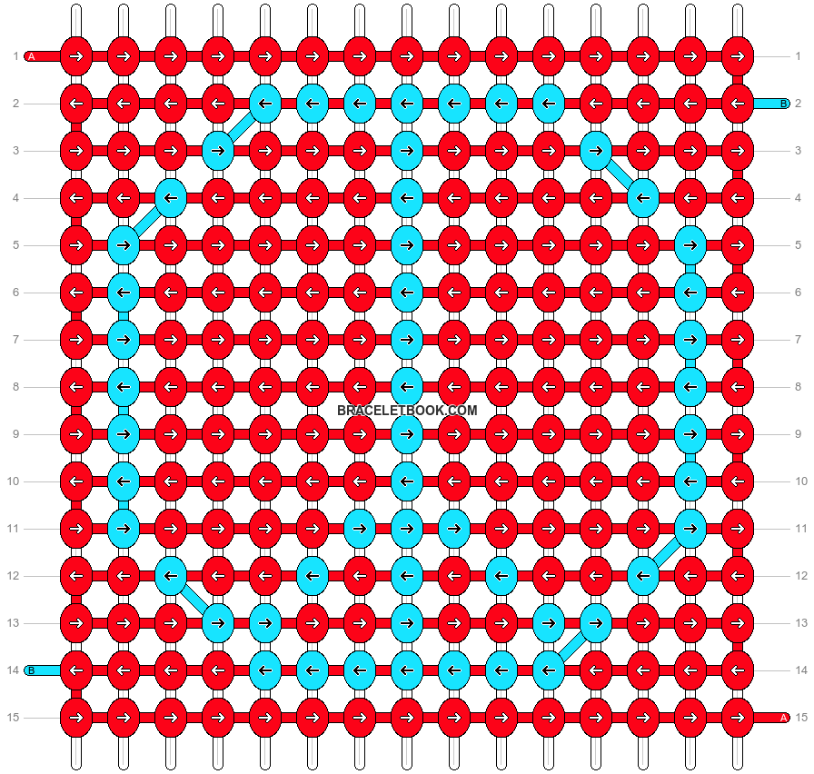 Alpha pattern #17925 pattern