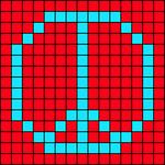 Alpha pattern #17925