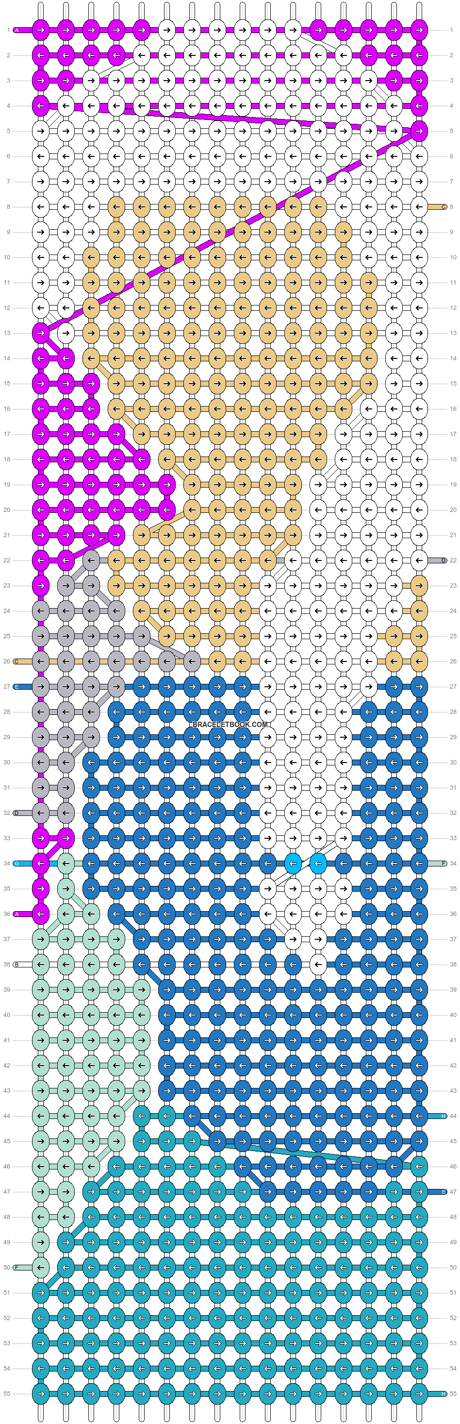 Alpha pattern #17928 pattern