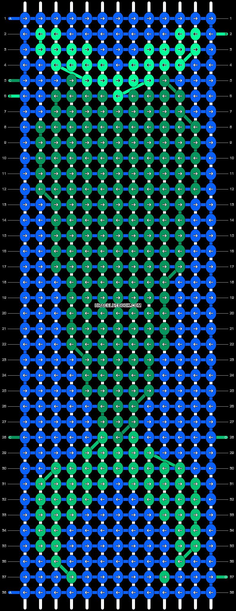 Alpha pattern #17954 pattern