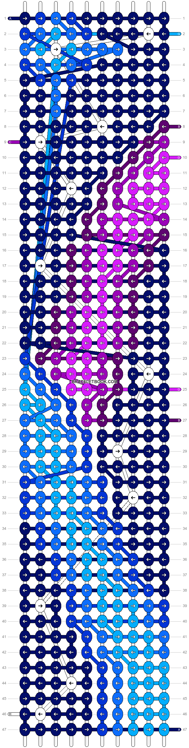 Alpha pattern #17955 pattern
