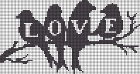 Alpha pattern #17961