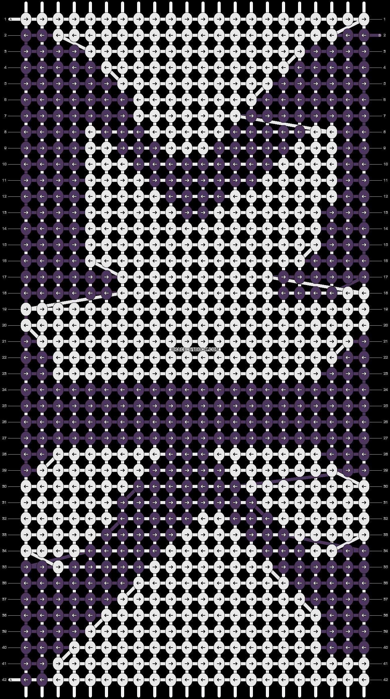 Alpha pattern #17966 pattern