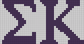 Alpha Friendship Bracelet Pattern #17966