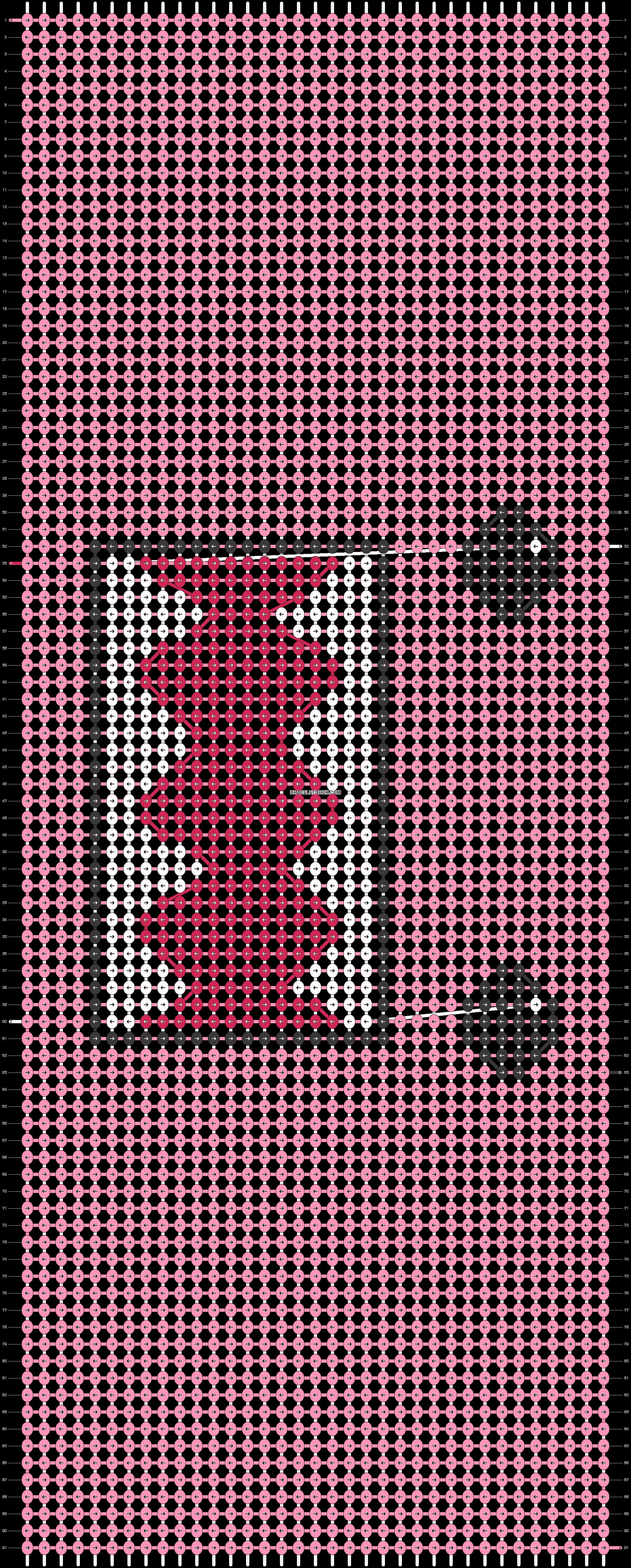 Alpha pattern #17974 pattern