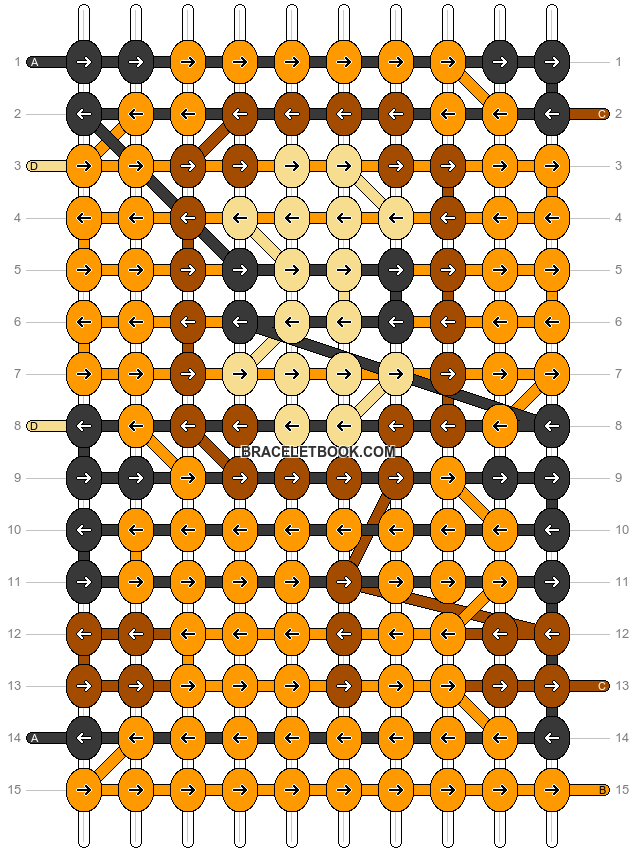 Alpha pattern #17975 pattern