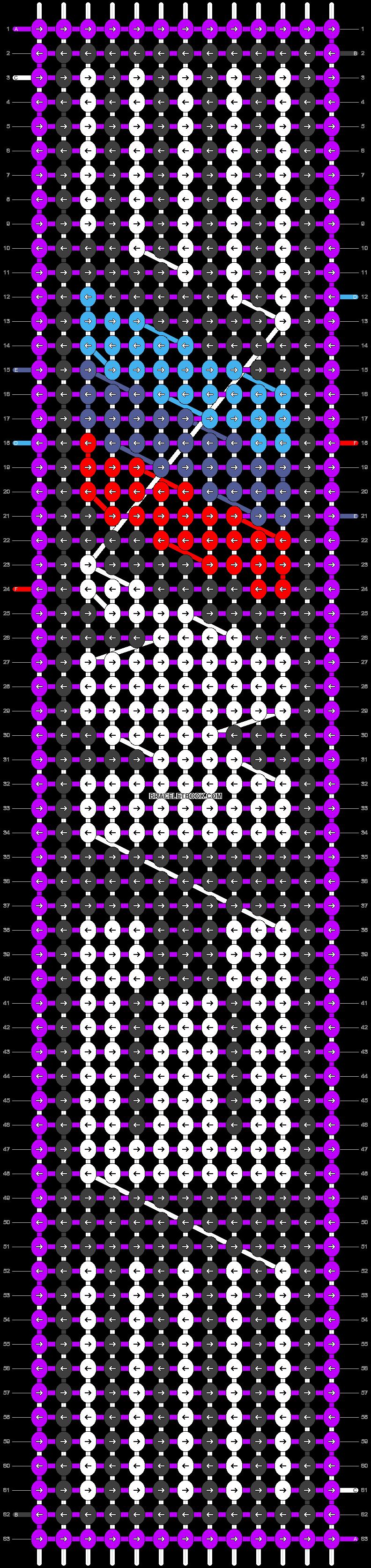 Alpha pattern #17981 pattern