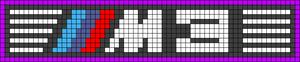 Alpha Friendship Bracelet Pattern #17981