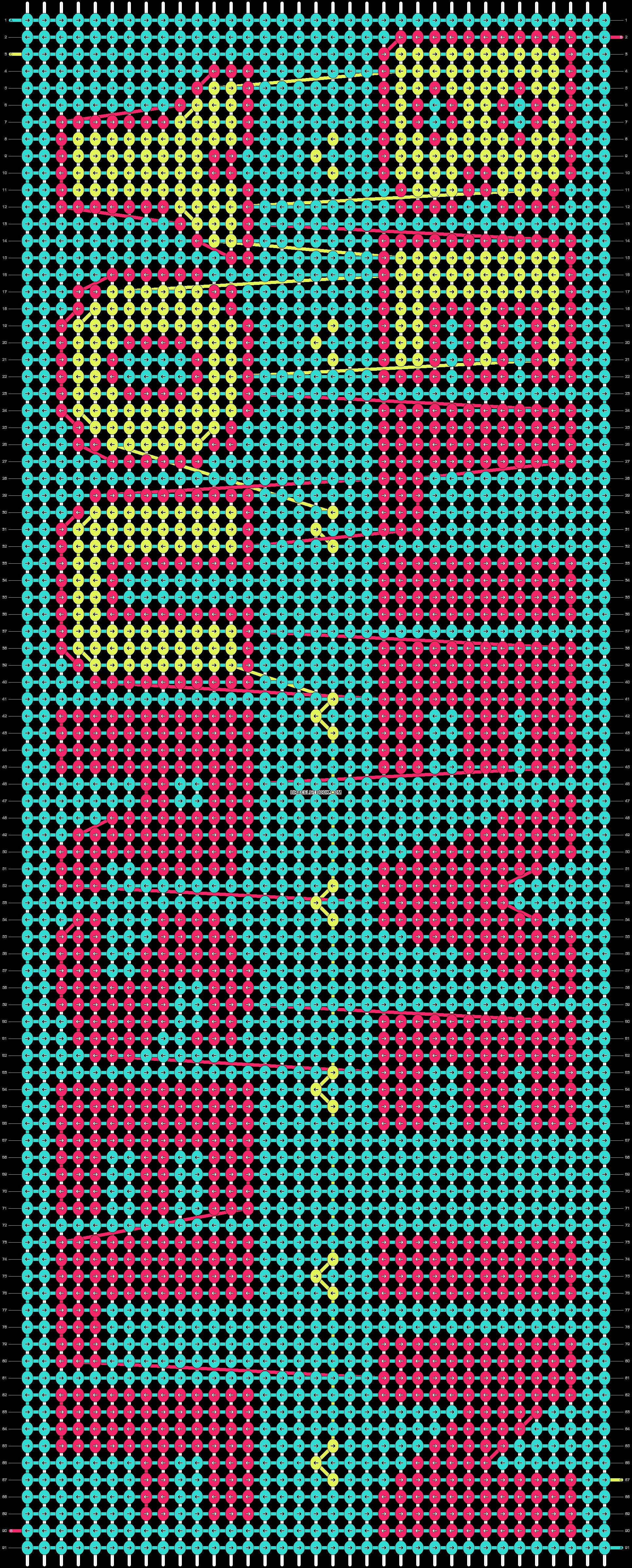 Alpha pattern #17986 pattern