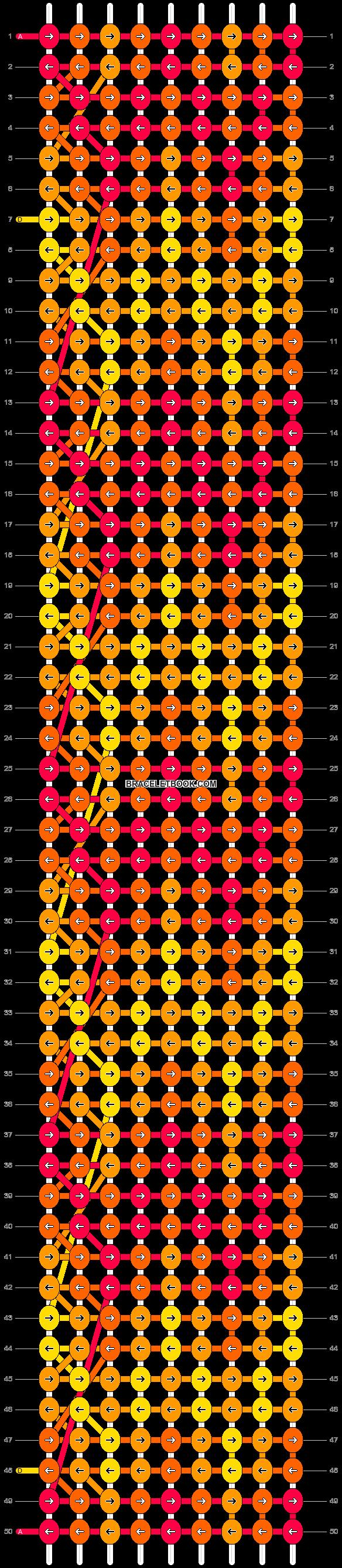 Alpha pattern #18000 pattern