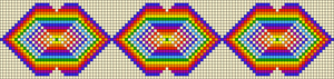 Alpha pattern #18001