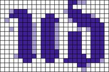 Alpha pattern #18002