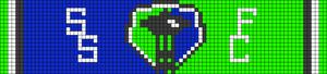 Alpha Friendship Bracelet Pattern #18003