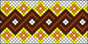 Normal Friendship Bracelet Pattern #18004
