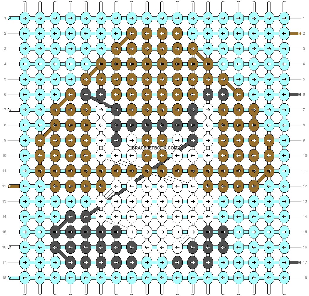 Alpha pattern #18016 pattern
