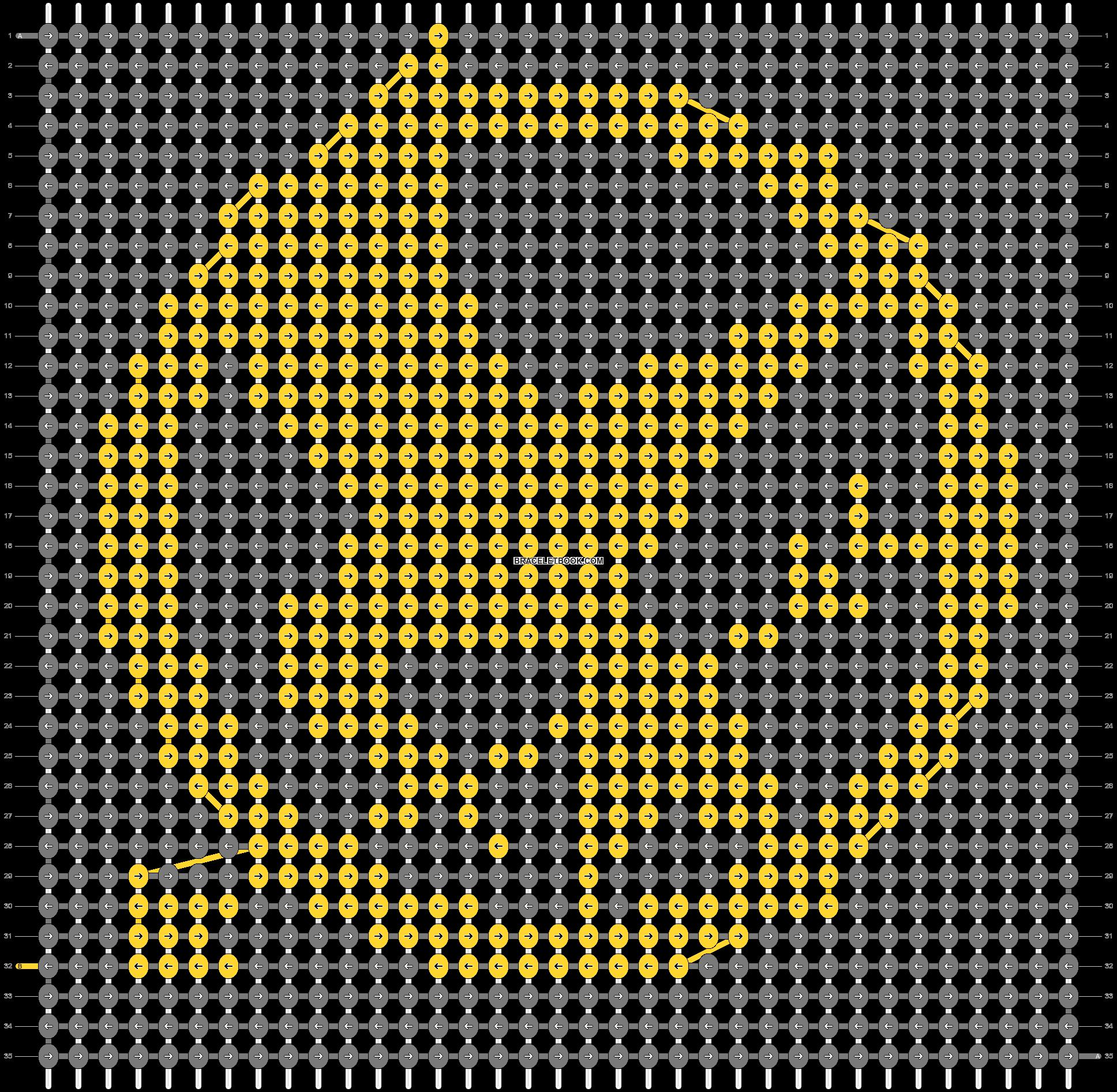 Alpha pattern #18017 pattern