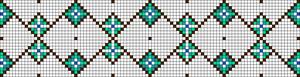 Alpha Friendship Bracelet Pattern #18019