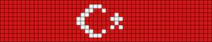 Alpha pattern #18023