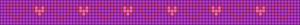 Alpha Friendship Bracelet Pattern #18028
