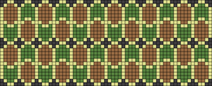 Alpha Friendship Bracelet Pattern #18040