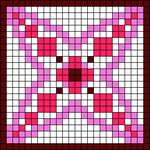 Alpha Friendship Bracelet Pattern #18044