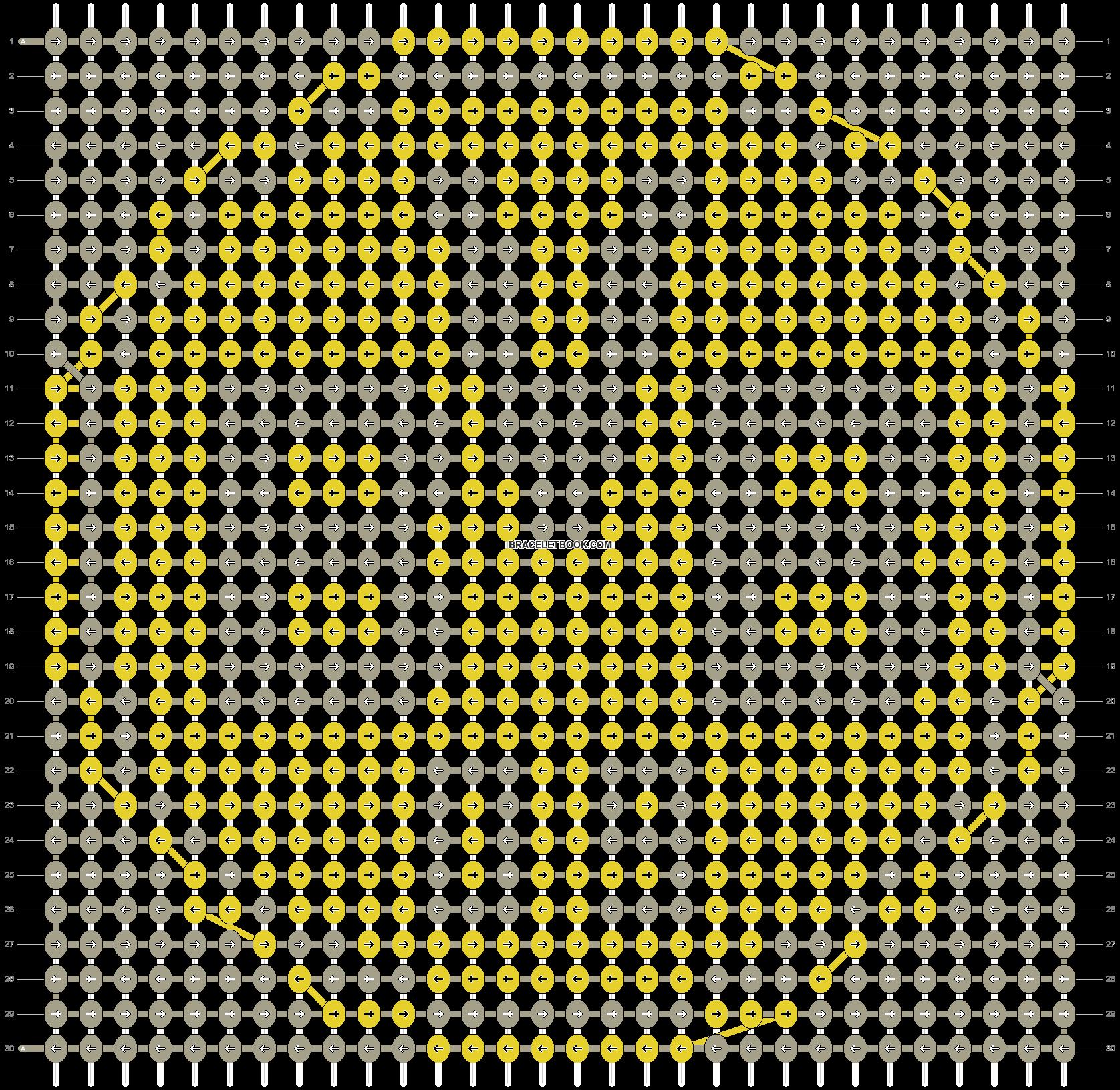Alpha pattern #18046 pattern