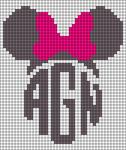 Alpha Friendship Bracelet Pattern #18050