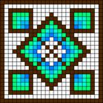 Alpha Friendship Bracelet Pattern #18052