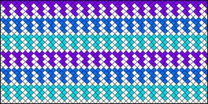 Normal Friendship Bracelet Pattern #18065