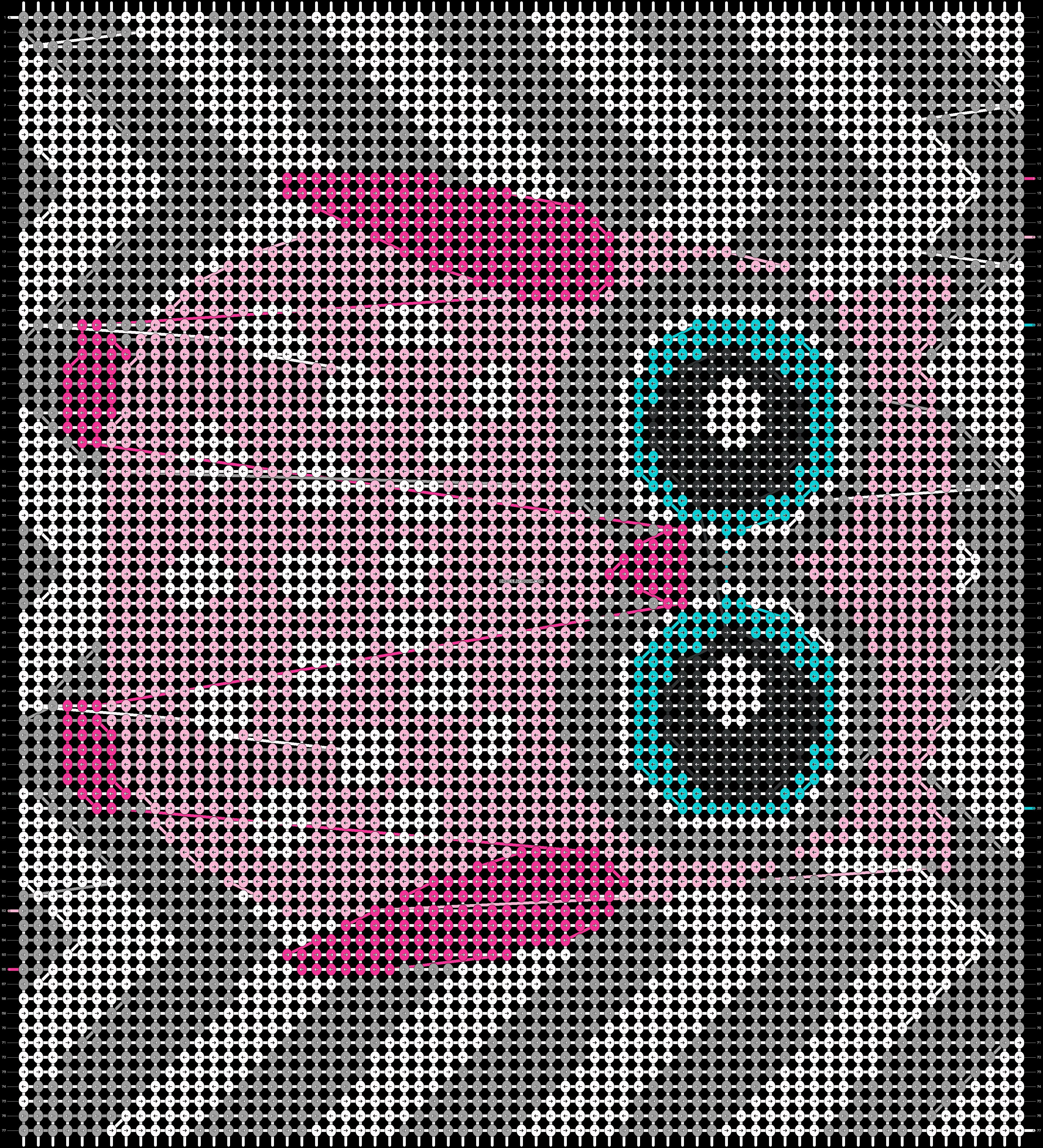 Alpha pattern #18066 pattern
